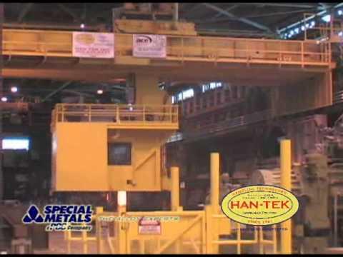 Charging Crane Application - Specialty Metals Industry