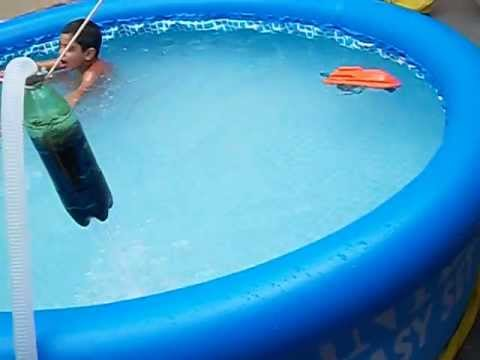 Filtro caseiro para piscina intex youtube for Filtros bombas accesorios piscinas intex