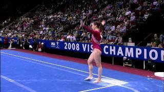 Chellsie Memmel - Floor Exercise - 2008 Visa Championships - Day 1