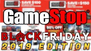 Gamestop Black Friday 2019 Gaming Deals