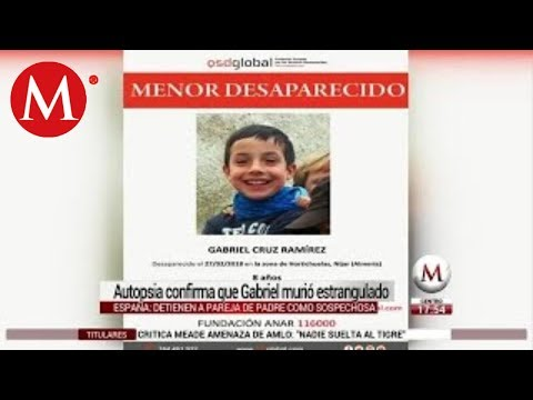 El asesinato del niño Gabriel, la historia que conmocionó a España