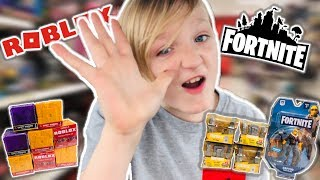 FORTNITE TOYS & #ROBLOXTOYS Hunting For series 5 Roblox Toys & Fortnite toys @ Gamestop & more