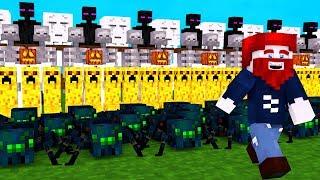 18 LUSTIGE MINECRAFT MOBS!