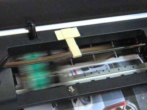 Bulk Ink Em Impressora HP 9800 Impresso A3