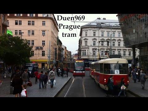 Czech Roads (30.) - Prague by tram ( Route 9. )