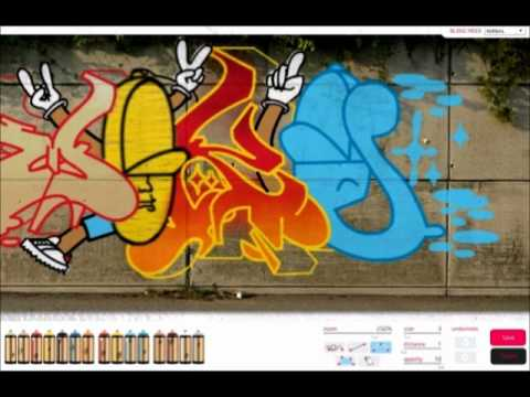 Virtual graffiti wildstyle