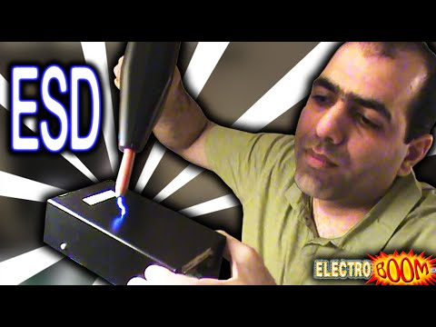 Don't worry, it's just ESD! (Electrostatic Discharge)
