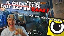 IL CHEAT ET SE FAIT BAN EN GAME !