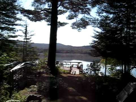 Action Packed Movie of Lake Pleasant in Speculator Pay attention to details