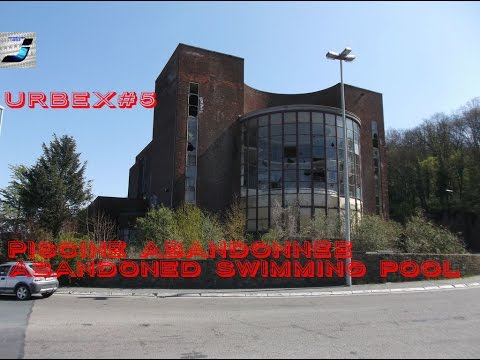 Urbex #5, Abandoned Swimming Pool In Belgium, Awesome And Freaky Location, Must See!!!!