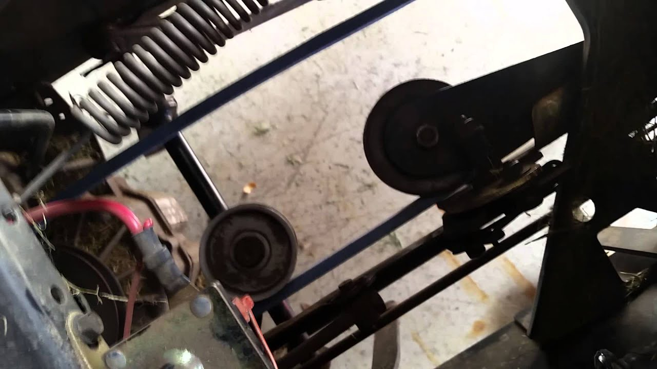 mtd yard machine belt replacement