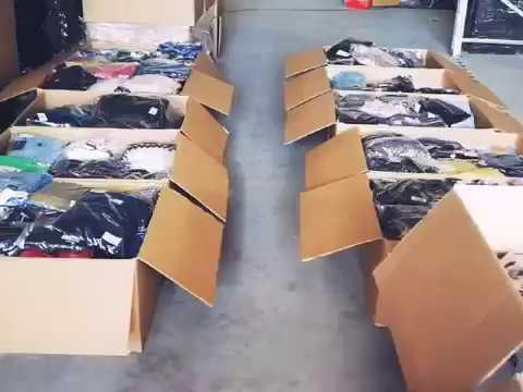 Брендовая сток одежда из Европы