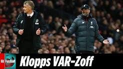 Klopp wütet über VAR, Solskjaer kontert | Pressekonferenz nach Manchester United - FC Liverpool