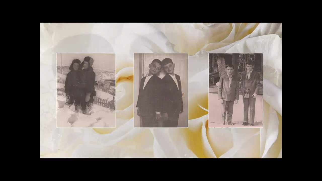 Бриллиантовая свадьба. Поздравительное слайд-шоу к годовщине свадьбы.