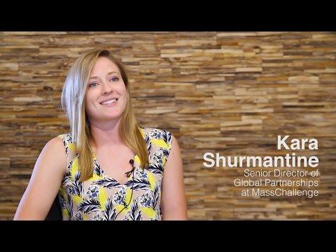 Kara Shurmantine, Mass Challenge - Europe's Corporate Startup Stars