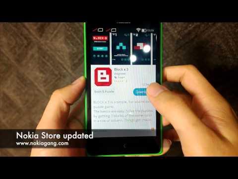 Nokia Store บน Nokia X และ Nokia XL อัพเดต
