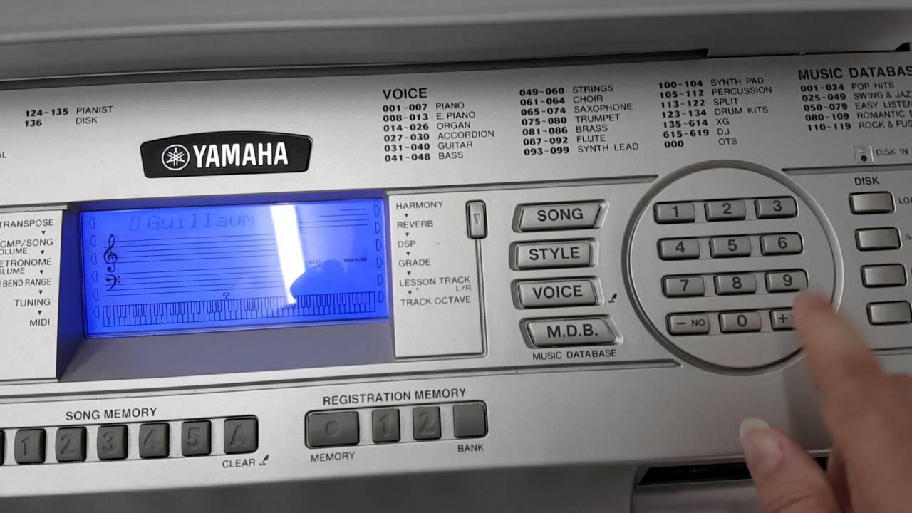 yamaha portable grand piano dgx 500 youtube. Black Bedroom Furniture Sets. Home Design Ideas