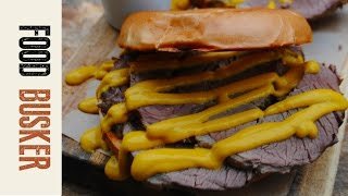 Salt Beef Bagel Recipe | Food Busker