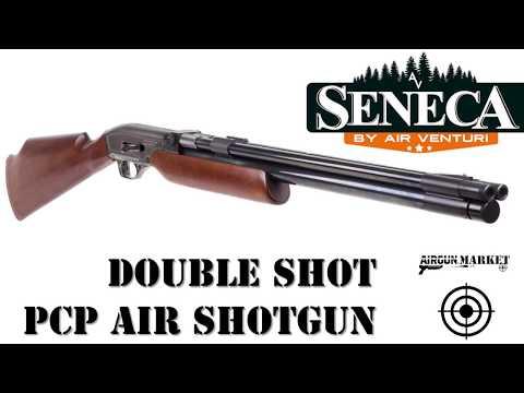 Double Barreled PCP Air Shotgun! The Seneca Double Shot