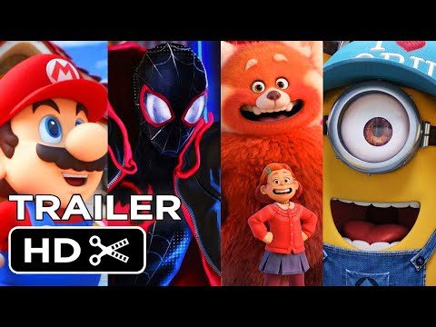 THE BEST UPCOMING ANIMATED MOVIES  (2021 - 2024) - NEW KIDS TRAILERS