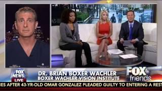 Dr. Brian Boxer Wachler Suprises Kerataconus Patient Mariah Bryant On Fox And Friends