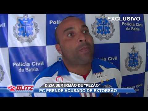 PC PRENDE ACUSADO DE ESTORQUIR COMERCIANTE