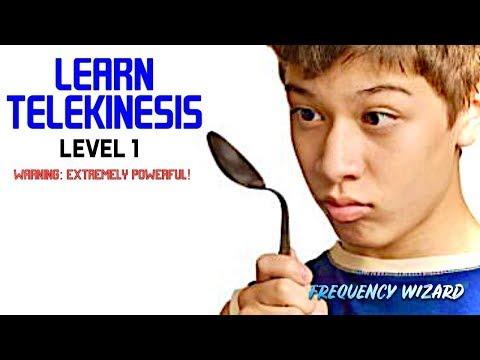 Learn Telekinesis Fast! LEVEL 1 - Subliminal Biokinesis Frequencies Hypnosis Binaural Beats Spell
