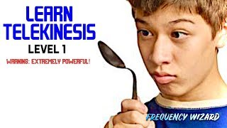 Learn Telekinesis Fast! LEVEL 1 - Subliminal Biokinesis Frequencies Hypnosis Binaural Beats Spell