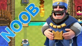 """Clash Royale - BIGGEST NOOB EVER! """"WTF"""" NOOBIEST PLAYER IN Clash Royale!"""