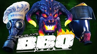 PAYDAY 2 BBQ Pack Masks Unlocked - the Gas Mask | Graug | Firefighter