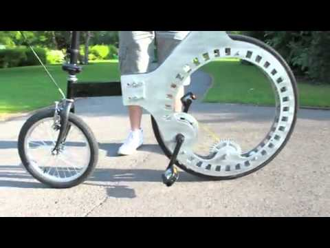 Lunartic Cycle Bike Without Spokes Youtube