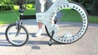 Lunartic Cycle Bike Without Spokes