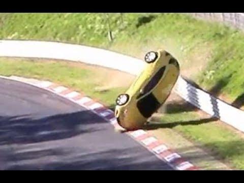 Heavy Roll Over Crash Opel Astra...