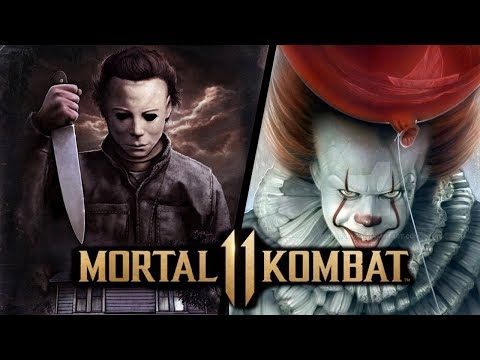 Michael Myers and Pennywise in Mortal Kombat 11 thumbnail