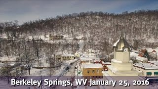 Snowy Berkeley Springs 2016