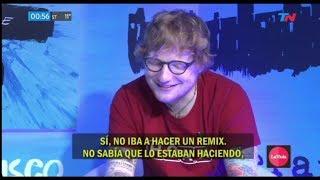 Ed Sheeran y UN COVER DE DESPACITO?!