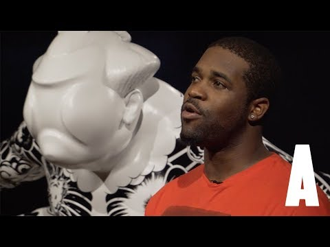 ASAP Ferg talks art, music, and the Mob during art gallery visit