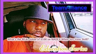 What's the REAL Value of $100 on NADEX When You Have Skill?   #TeamAlliance