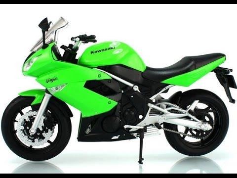 kawasaki motorcycle toy, motorcycles toys for kids - youtube