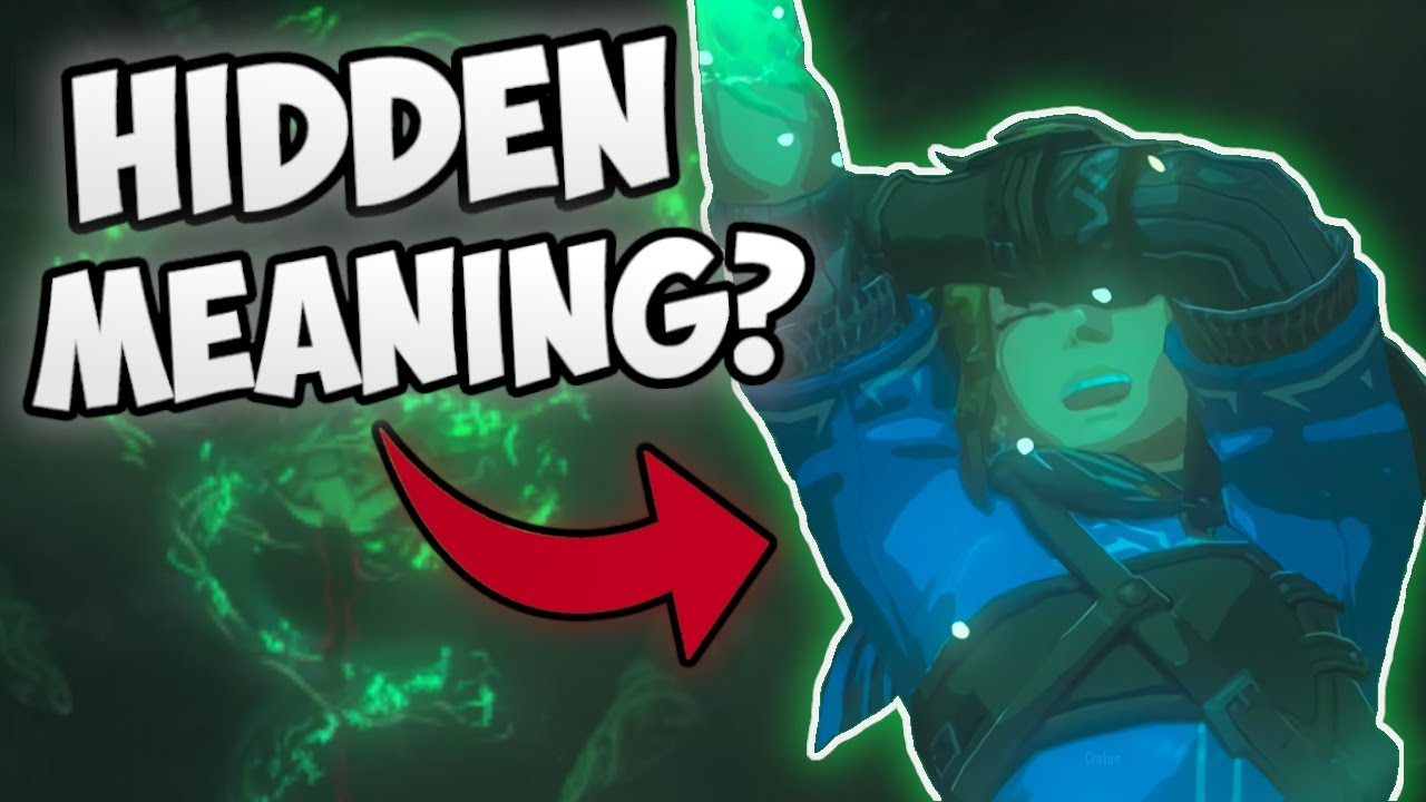 The Symbolism Behind The Green Magic In Botw 2 Zelda Theory