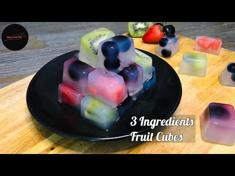 fruit-cubes---no-sugar,-no-carb,-only-3-ingredients-healthy-dessert