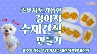 [강아지수제간식/식품건조기]★완전쉬움★초보도 가능한 강…