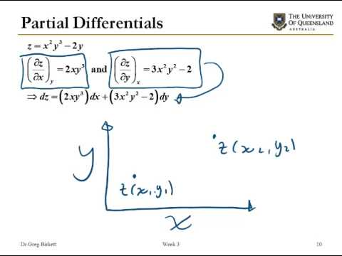 Thermodynamic properties and partial derivatives