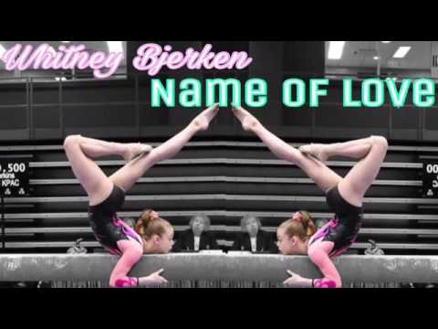 Whitney Bjerken   In the name of Love - Martin Garrix   Gymnastics