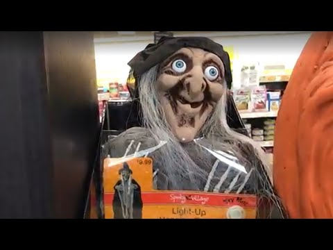 CVS Animated Halloween Toys, Decorations & Store Merchandise Walkthrough and Testing.