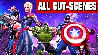 Ultimate Alliance 3 The Black Order The Movie - All Cut Scenes