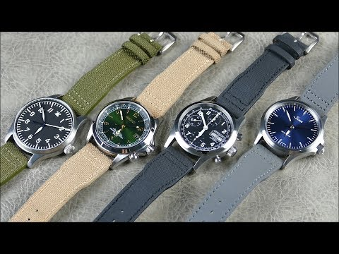 On The Wrist, From Off The Cuff: B&R Bands – Pilot Bands, BEST 2pc Straps From Field To Flight!