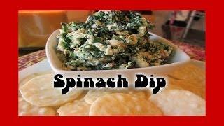 Spinach Dip ❤ Recipe By Rocky Barragan