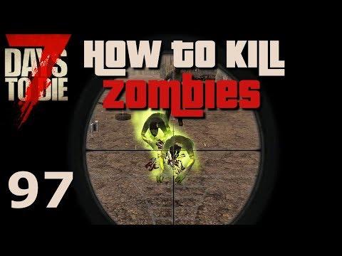 How to kill Zombies - Die Academy [E97] [Gameplay German Deutsch] [7 Days To Die Insane A16]
