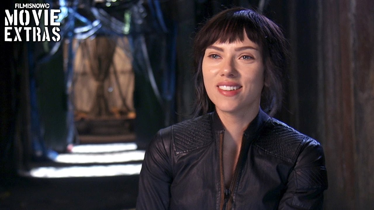 Ghost In The Shell On Set Visit With Scarlett Johansson Major Youtube